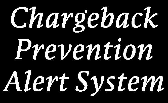 Chargeback Prevention Alert System